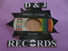 WHO~PINBALL WIZARD~NEAR MINT~DOGS PART TWO~DECCA 732465~ POP 45