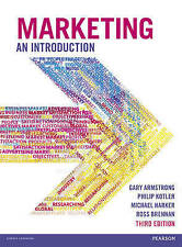 Marketing An Introduction by Michael Harker, Dr. Philip T. Kotler, Gary...