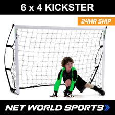 Kickster 6 x 4 Football Goal | Portable Quick Assemble Junior Football Goal
