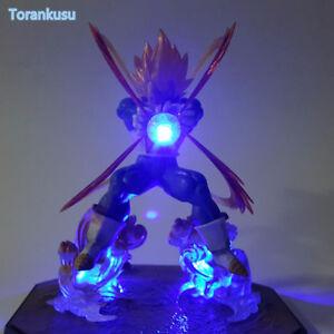 Dragon Ball Z Action Figure Vegeta Figurts Zero Led Light DIY Display Toy Esfera