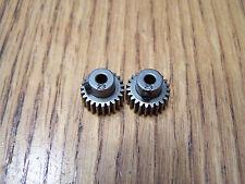 2-Traxxas 23 Tooth Steel Pinion Gears w/set grub screw 23t 48p Rustler 2423 Gear