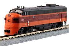 KATO 1762301 N Scale FP7A Milwaukee Rd Locomotive #95C 176-2301, Hiawatha  - NEW