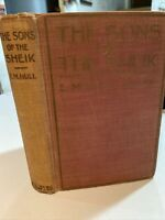 The Sons Of The Sheik By E.M. Hull  1925 With Rudolph Valentino Bookplates