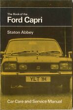 Ford Capri 1300 1600 2000 3000GT Car Care & Service Manual  Pub. by Pitman 1973