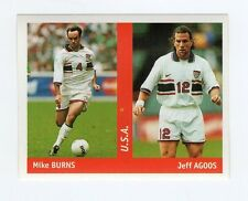figurina DS CALCIATORI WORLD CUP FRANCE 98 NUMERO 270 U.S.A. BURNS, AGOOS