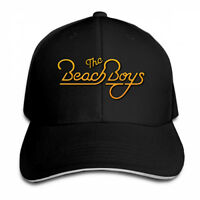 The Beach Boys Gold Logo Snapback Baseball Hat Adjustable Cap