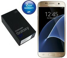 Brand New Samsung Galaxy S7 32GB Gold G930F Unlocked Sim Free  UK Mobile phone