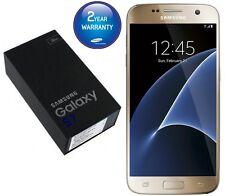 Brand New Samsung Galaxy S7 32GB Gold G930F Unlocked Sim Free  UK Mobile phone