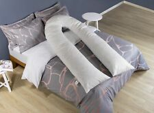9ft, 12ft U Shape Extra Fill Duck Feather & Down Nursing, Maternity Pillow only