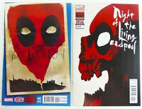 Marvel NIGHT OF THE LIVING DEADPOOL (2014) #2 4 VF/NM to NM LOT Ships FREE!