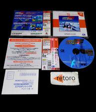AERO DANCING F Sega DREAMCAST DC JAP Complete Spine Dreamcast Collection