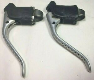 NIB silver no hoods NOS Vintage Weinmann non Aero brake levers
