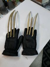"The Wolverine Glove Set Bone Claws Cosplay See photos 20"" leather gloves"