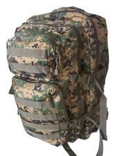 Mochila MILTEC Asalto LG Woodland Digital - Marpat 36 L, estilo militar mil tec