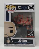 Funko Pop Comedians #04 JO KOY Autographed W/ Pop Protector & Shirt