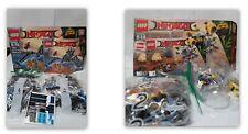 2 LEGO Ninjago Sets: Water Strider 70611 & 70610 Flying Jelly Fish *Fast Ship!