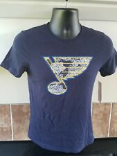 New With Tags! NHL St. Louis Blues Reebok Team Shirt, Youth Large 14