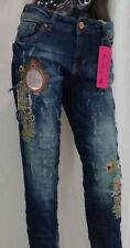 Damen-Jeans im Boyfriend-Stil aus Denim mit M