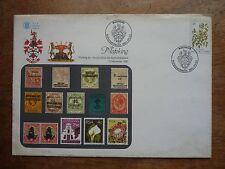 1980 BOPHUTHATSWANA Mafeking commemorative cover featuring 20c stamp (TONING)