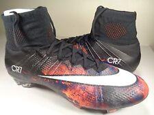 Nike Mercurial Superfly CR7 FG Ronaldo Savage Beauty Black SZ 12 (677927-018)