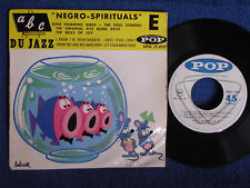 Dixie Humming Birds-Soul Stirrersl/Negro Spirituals/French EP/Pop SPO 17027/M-