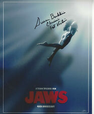Jaws 1st Victim added autographed 8x10 color photo