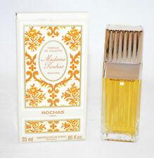 25 ML Rochas Madame vintage da donna profumo parfum de toilette inutilizzato OVP scomparto a4