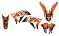 BLACKBIRD Sticker Kit Fit KTM 300EXC 2008 2009 2010 2011
