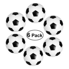 Universal Replacement Mini Foosball Soccer Ball Indoor Game Table Football 6pcs