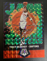 "TRACY MCGRADY Mosaic ""Jam Masters"" GREEN Holo Foil Prizm SP #11 PSA 9/10?"