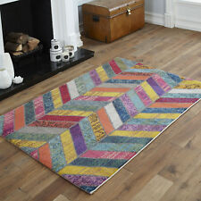 SMALL TRADITIONAL MODERN FLORAL MULTI SOFT BUDGET CHEAP CLEARANCE RUGS CARPETS
