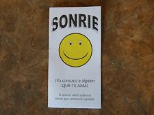 1000 Spanish Smile Gospel Tracts - Share your faith - God  -Ships FREE