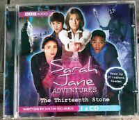CD Audio BBC Sarah Jane Adventures The Thirteenth Stone Elisabeth Sladen
