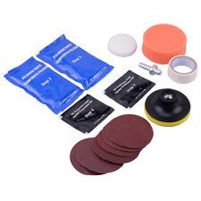 Car Headlight Lens Kit Restorer System Professional Polishing Cleaning Tool