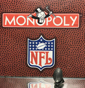1998 MONOPOLY NFL ORIGINAL GAME PARTS PEWTER TOKEN: LOT 6/ LOOSE/ PRE OWNED