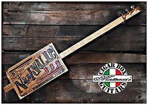 Nashville  3SP slide  Cigar Box Guitar  Robert Matteacci