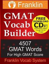 Franklin GMAT Vocab Builder: 4507 GMAT Words For High GMAT Score: FREE Download