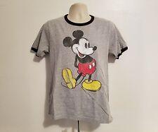 Vintage Disney Mickey Mouse Adult Medium Gray TShirt