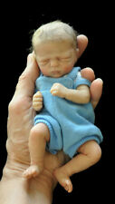 """MARLEY 7-8"""" MINIDOLL  KIT BLANK VINYL PARTS TO MAKE A REBORN BABY-NOT COMPLETED"""