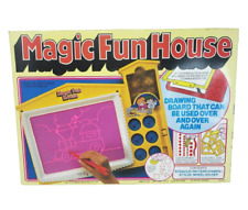 VINTAGE 1991 MAGIC FUN HOUSE HOP LEE CHEONG DRAWING FUN W/ NEON PINK PAD IN BOX