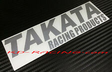 Takata Racing Products Sticker Decals Racing Seat Belt Free Shipping x 2
