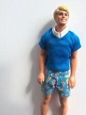 Vintage Ken, Puppe von Mattel copyright 1968, hergestellt in HongKong
