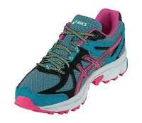 Asics Womens Enamel Blue Pink Black Gel-Sonoma Trainers [T4F7N]
