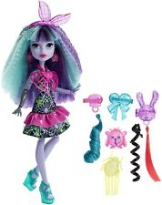 MONSTER HIGH TWYLA electrified monstrous HAIR Ghouls BAMBOLA da collezione OVP dvh71