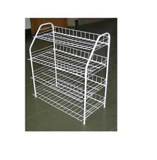 HQ 4 TIER EXTENDABLE FIRM & DURABLE METAL BODY SHOE STORER STAND RACK