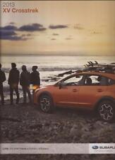 2013 13  Subaru XV  Crosstrek  original sales brochure MINT