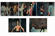 BRUCE LEE - WAY OF THE DRAGON  - SET OF 5 - A4 PHOTO PRINTS