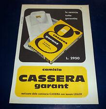A169-Advertising Pubblicità-1959-CAMICIA CASSERA GARANT