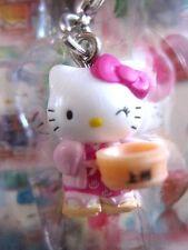 Sanrio Hello Kitty YUKATA GUNMA Charm Mascot Cell Phone Strap Japan New