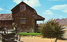 Apple Valley CA The Old Sheriff's Office Postcard 1960s